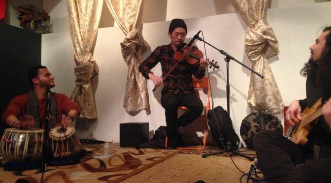 Ken Shoji, Michael Gam and Shivalik Ghoshal: Set 2 of the premier concert in the Africa/India series
