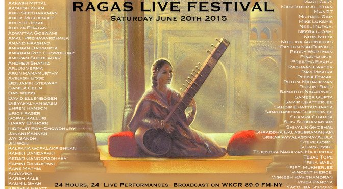 Pradhanica and Taalim Tabla Duet: Mike Lukshis (tabla), Kaumil Shah (tabla) Ragas Live 2015 #18 Podcast 162
