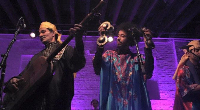 Africa/India Series: Innov Gnawa with Brooklyn Raga Massive All Stars –  Podcast 179