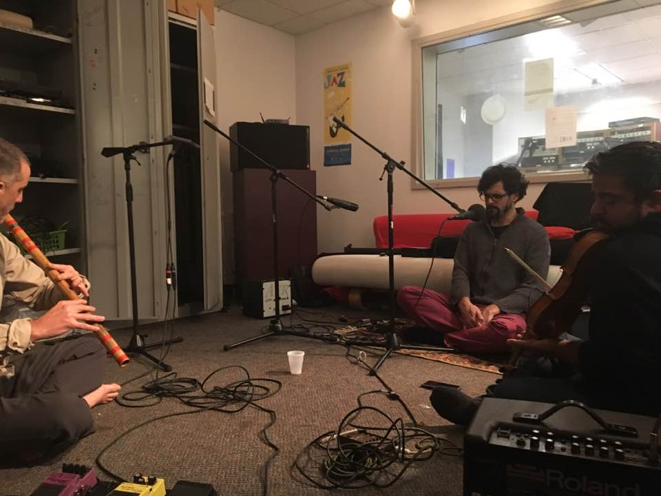 Brooklyn Raga Massive's Unstruck Sound Live on WKCR -Podcast 222